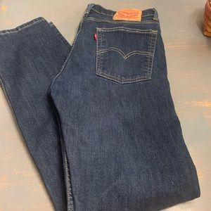 Men's 513 Levi's. Like new.